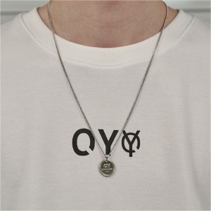 LOGO MEDAL NECKLACE